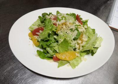 Миск салатки с цитрусово филе