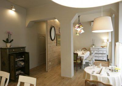 Интериор на ресторант Къщата на Ви